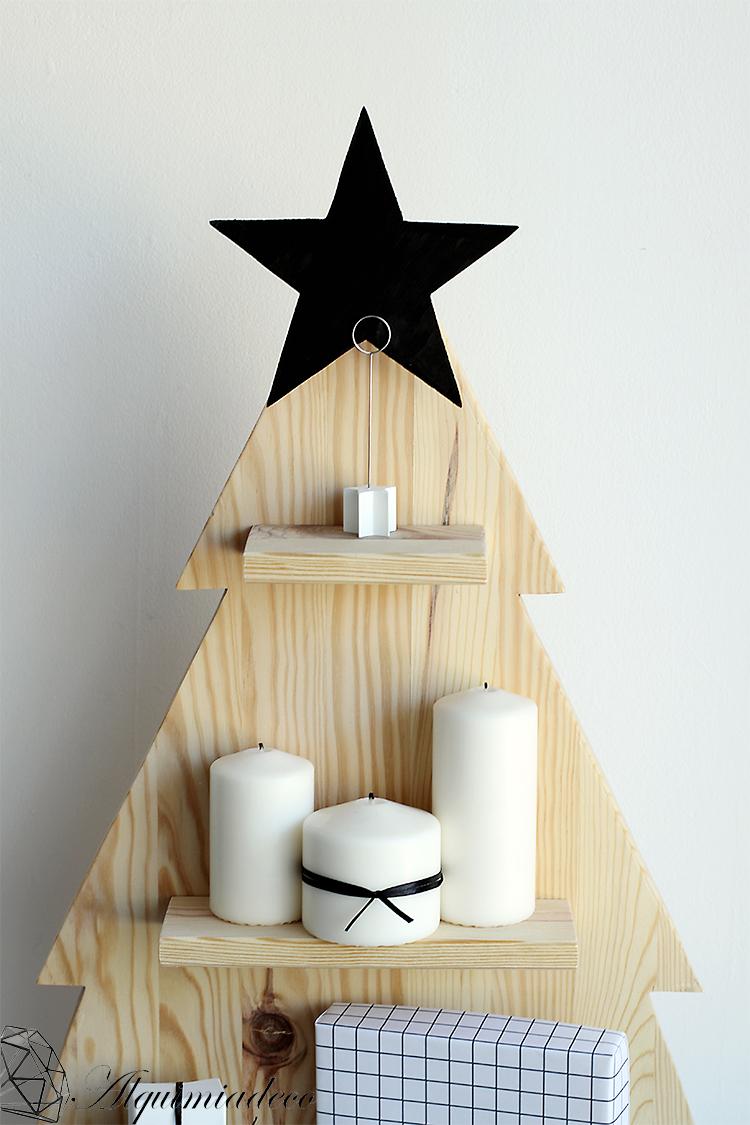 DIY: Arbol de navidad de madera - Handbox Craft Lovers | Comunidad ...