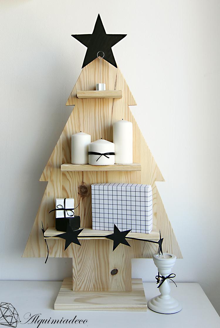 diy arbol de navidad de madera - Arbol De Navidad De Madera