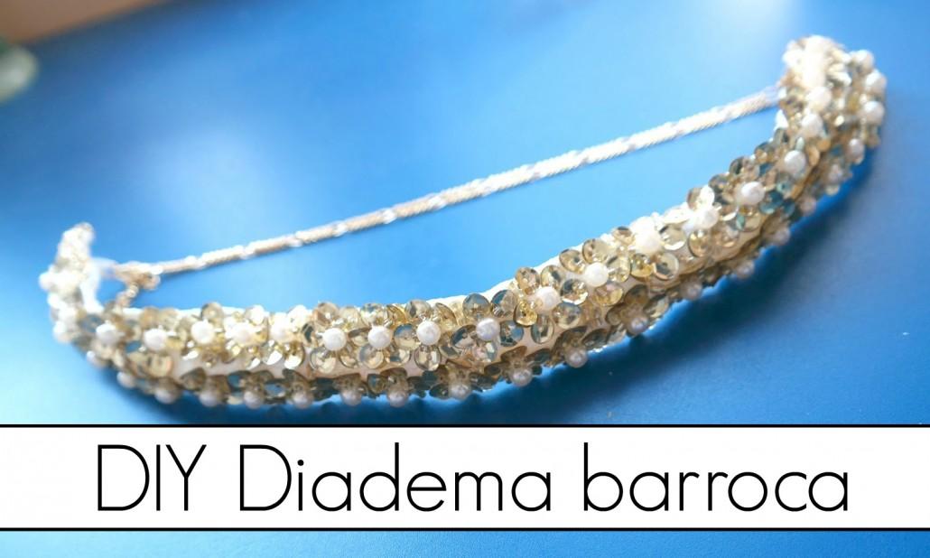 DIY diadema barroca - Handbox Craft Lovers | Comunidad DIY ...