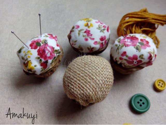Cáscara-de-nuez-alfileteros-Tutorial-regalo-handmade