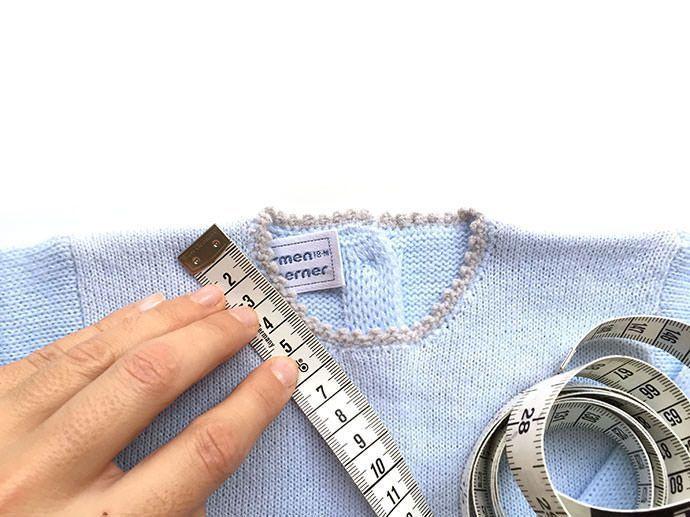 como calcular puntos para tejer prenda 1