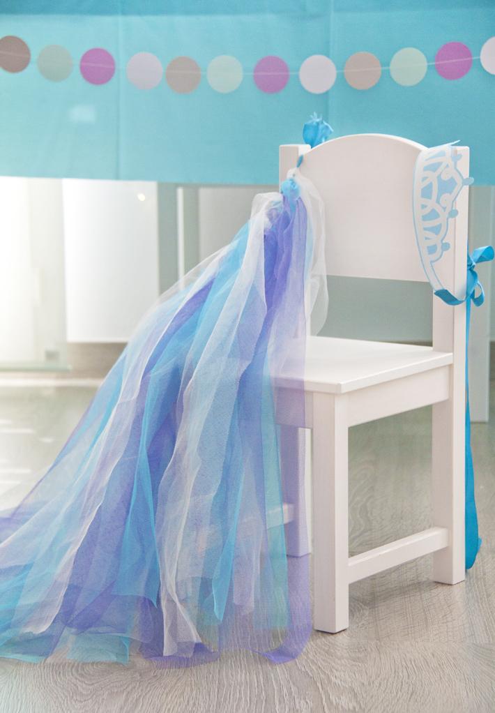 disfraz casero de Elsa de Arendelle