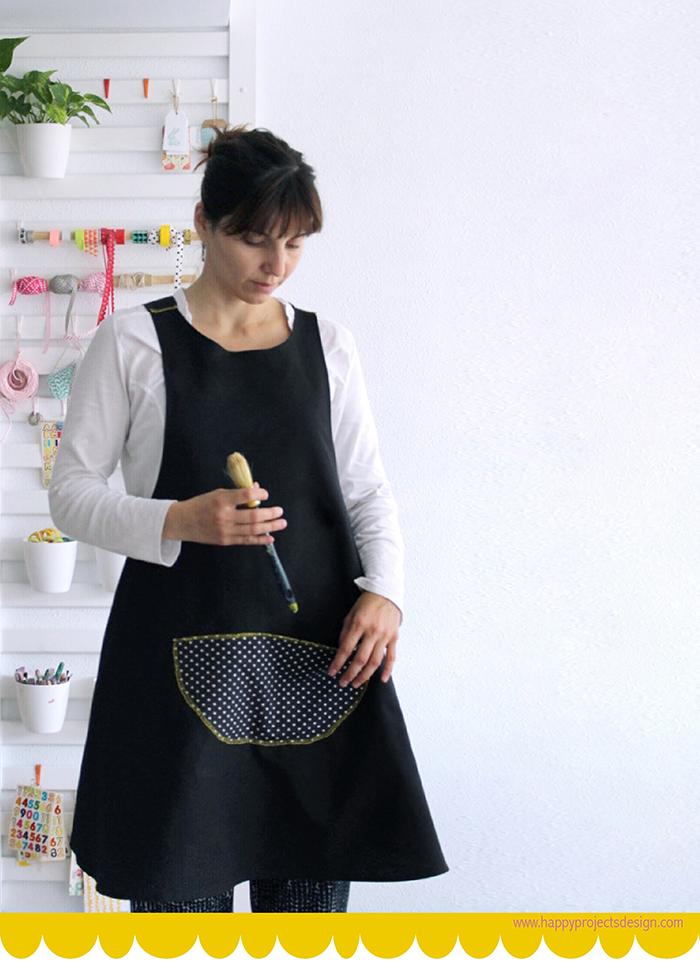 Delantal DIY - Handbox Craft Lovers | Comunidad DIY, Tutoriales DIY ...