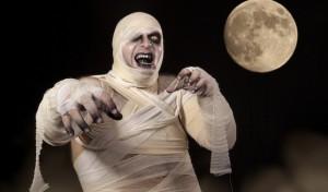 disfraz de momia