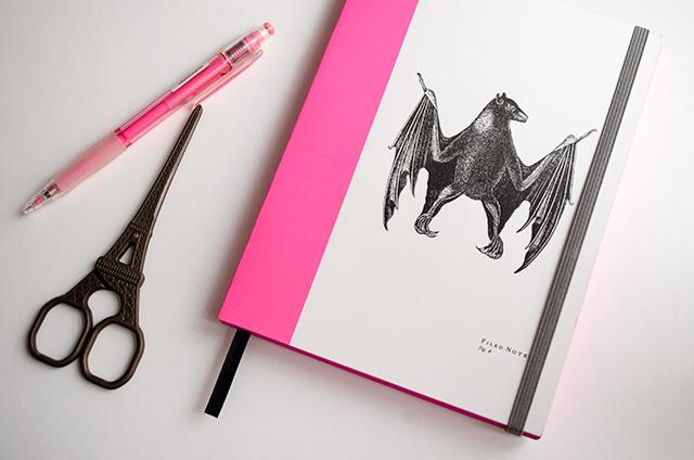 Añade un cierre a tu cuaderno favorito