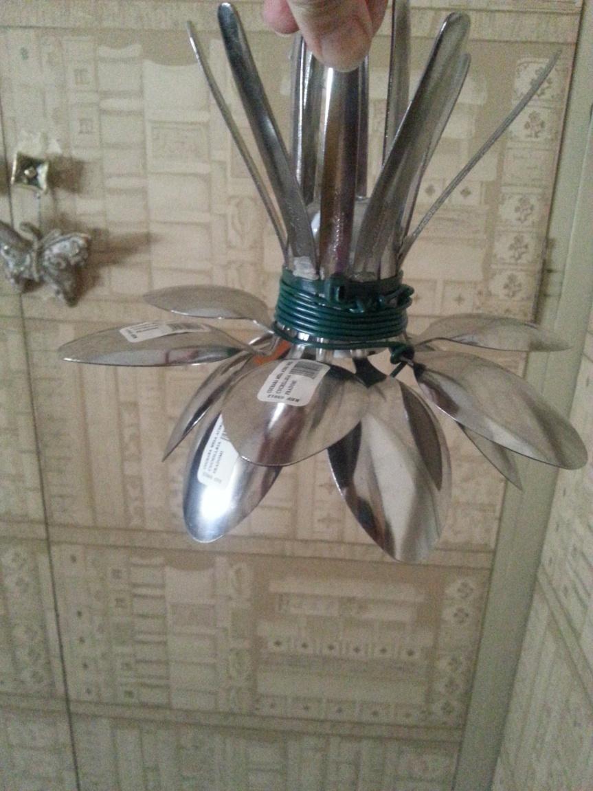 De cucharas a lámparas