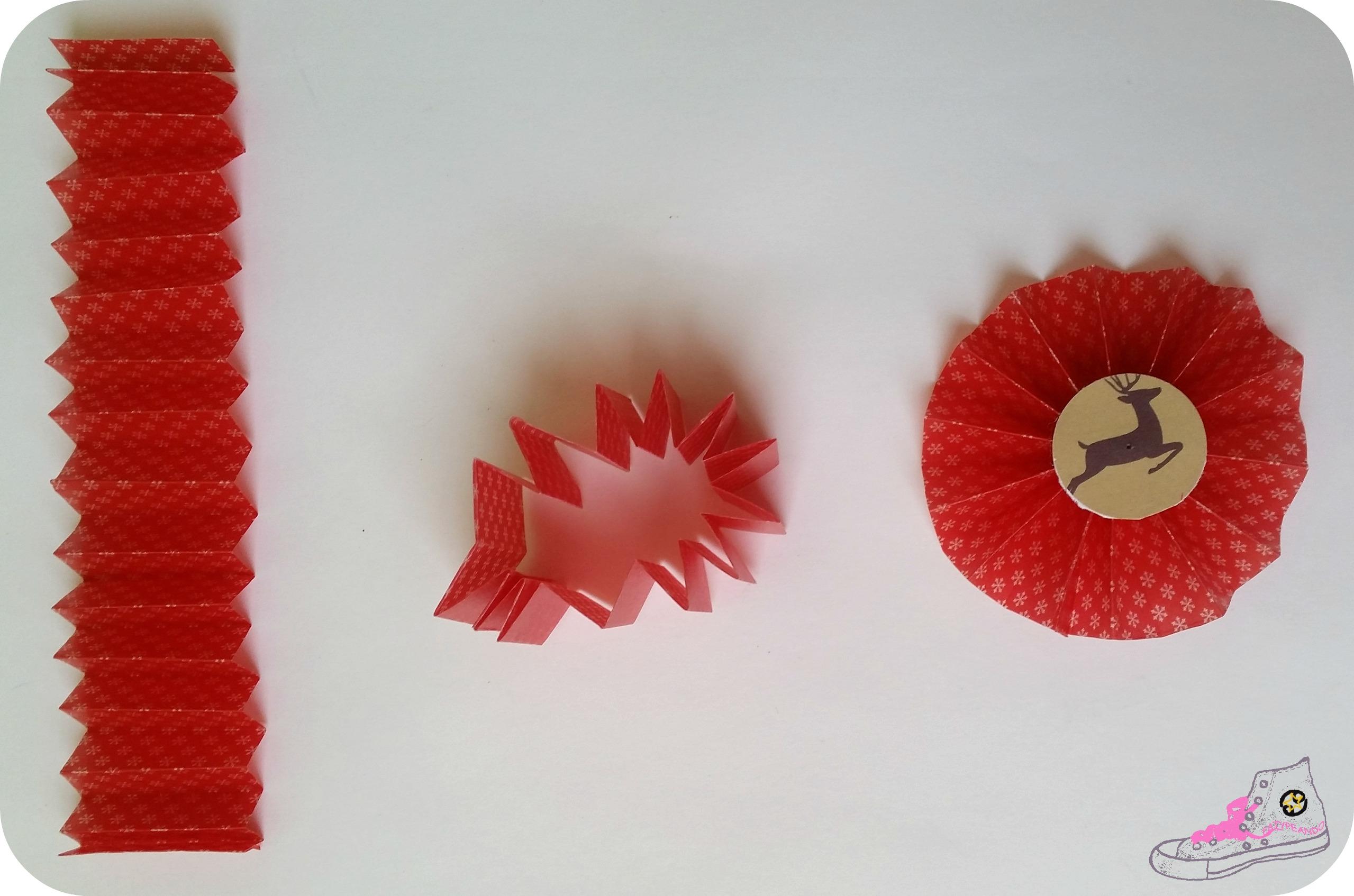 pasos para hacer rosetones