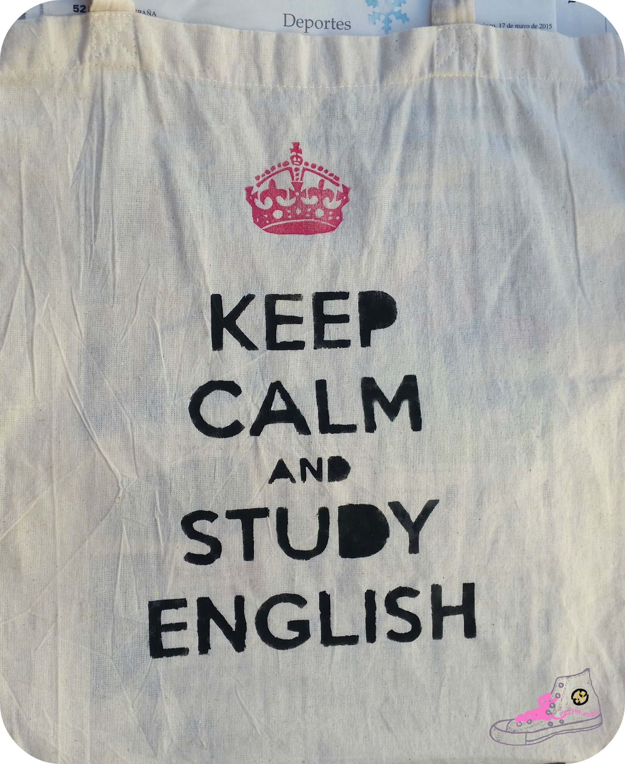 mensaje keep calm