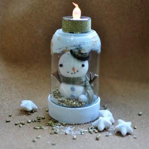 Cómo hacer un muñeco de nieve para decorar