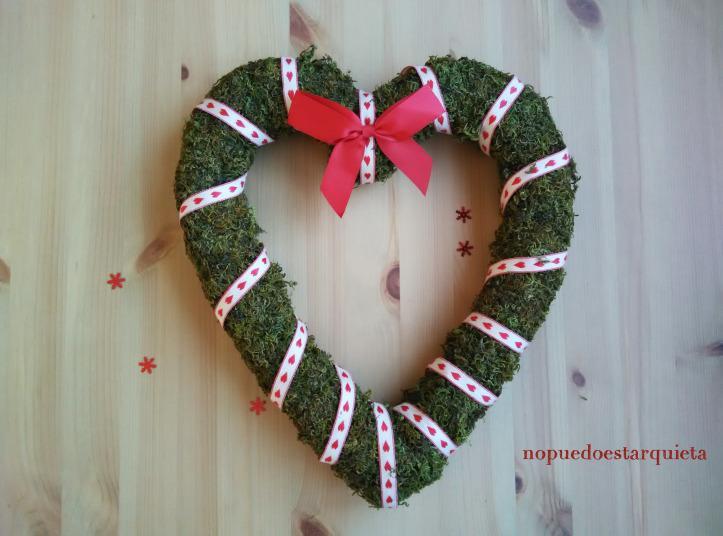DIY de navidad. Decora tu adorno de puerta.