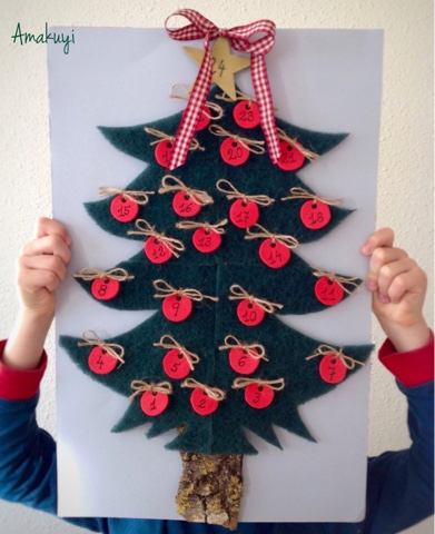 Calendario-adviento-handmade-Low-Cost-niños-estropajo