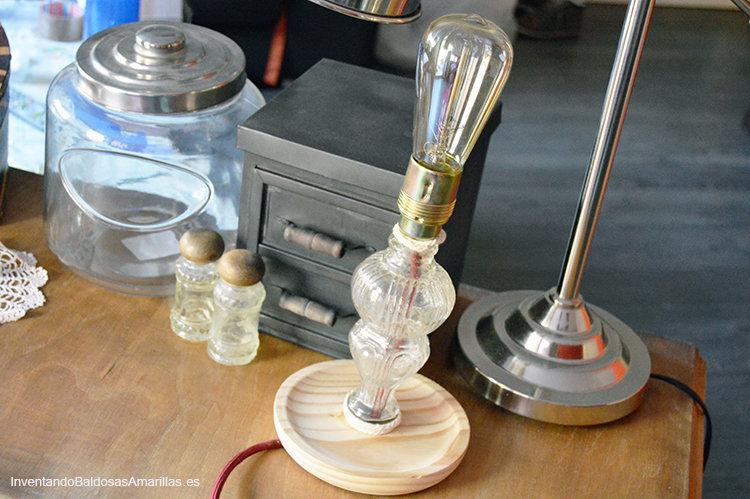 lampara vintage handmade