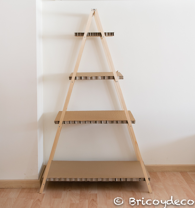 librería escalera