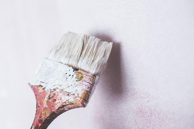respetar los tiempos de secado entre manos de pintura