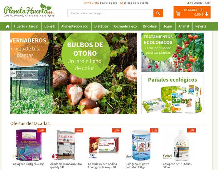 tienda online Planeta Huerto
