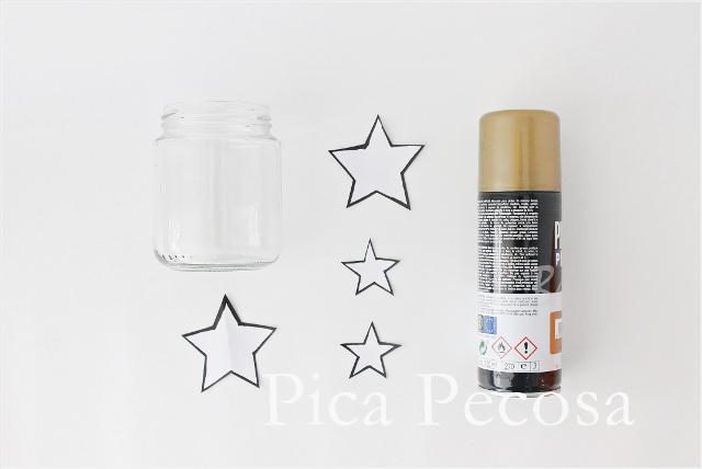 como-hacer-portavelas-diy-bote-cristal-reciclado-pintura-spray-navidad-materiales