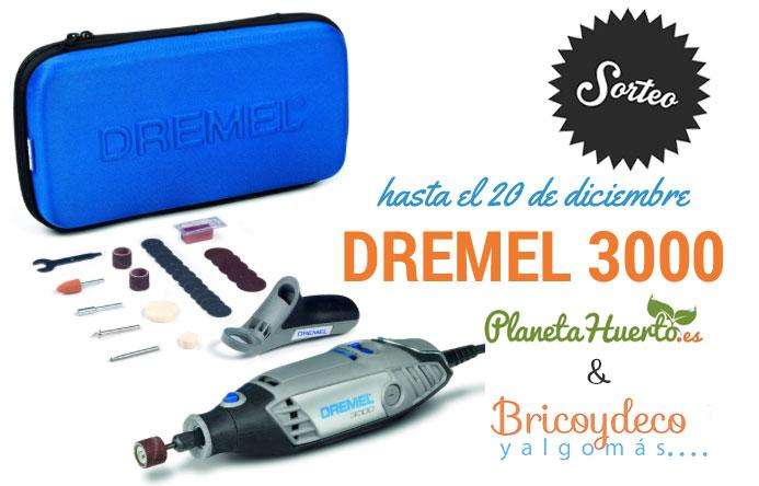 sorteo kit Dremel 3000
