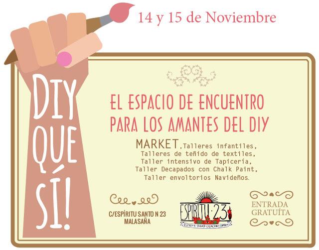 Planes por Madrid: DIY Que sí! Market