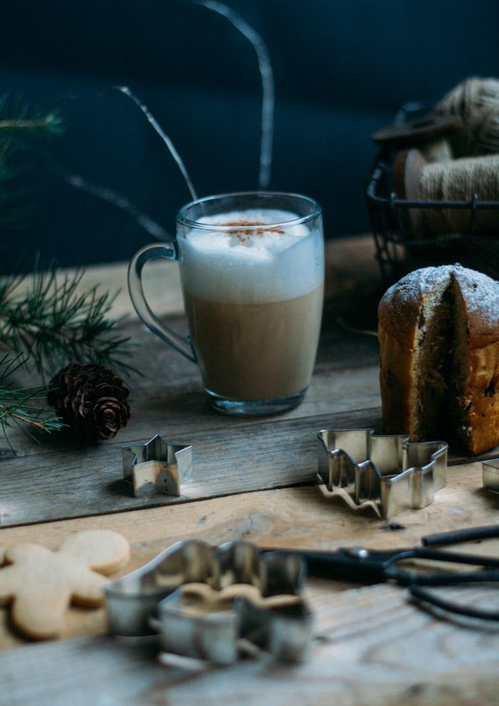 Bebidas calientes de Navidad DIY