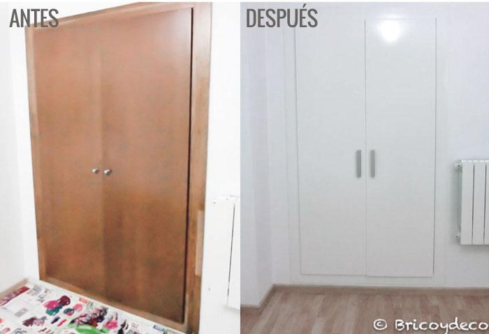 lacar puertas de armario