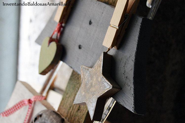 arbol navidad handmade