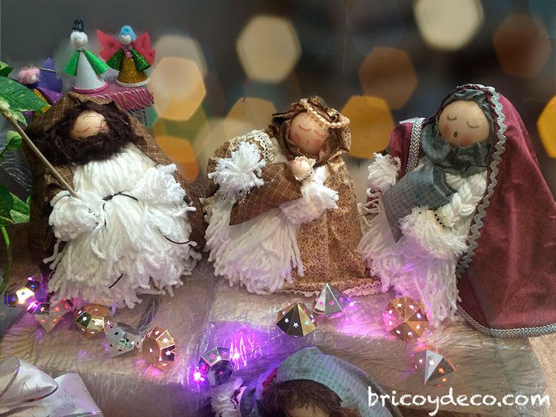 decorar en navidad reciclando