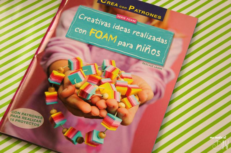 libro creativas ideas realizadas con goma eva para niños