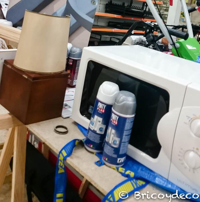 objetos que se pueden renovar con pintura en spray