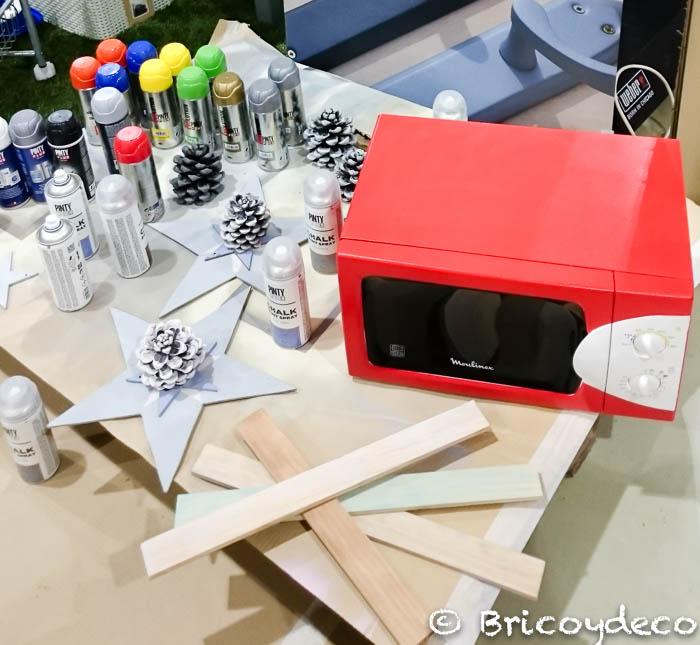 renovar objetos con pintura en spray
