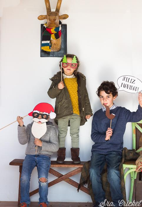 photocall navideño niños
