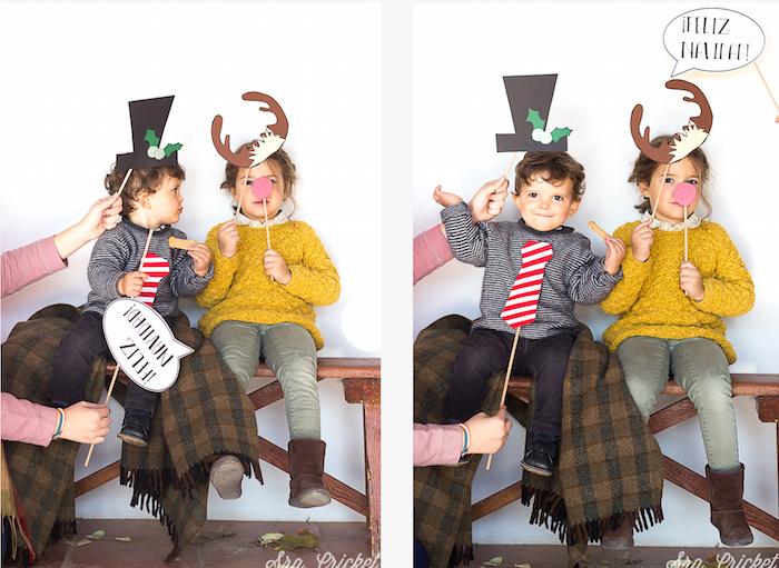 photocall niños navidad