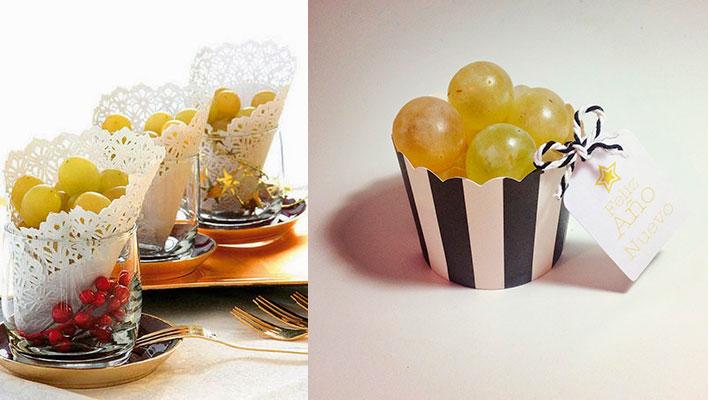 presentar uvas en Nochevieja