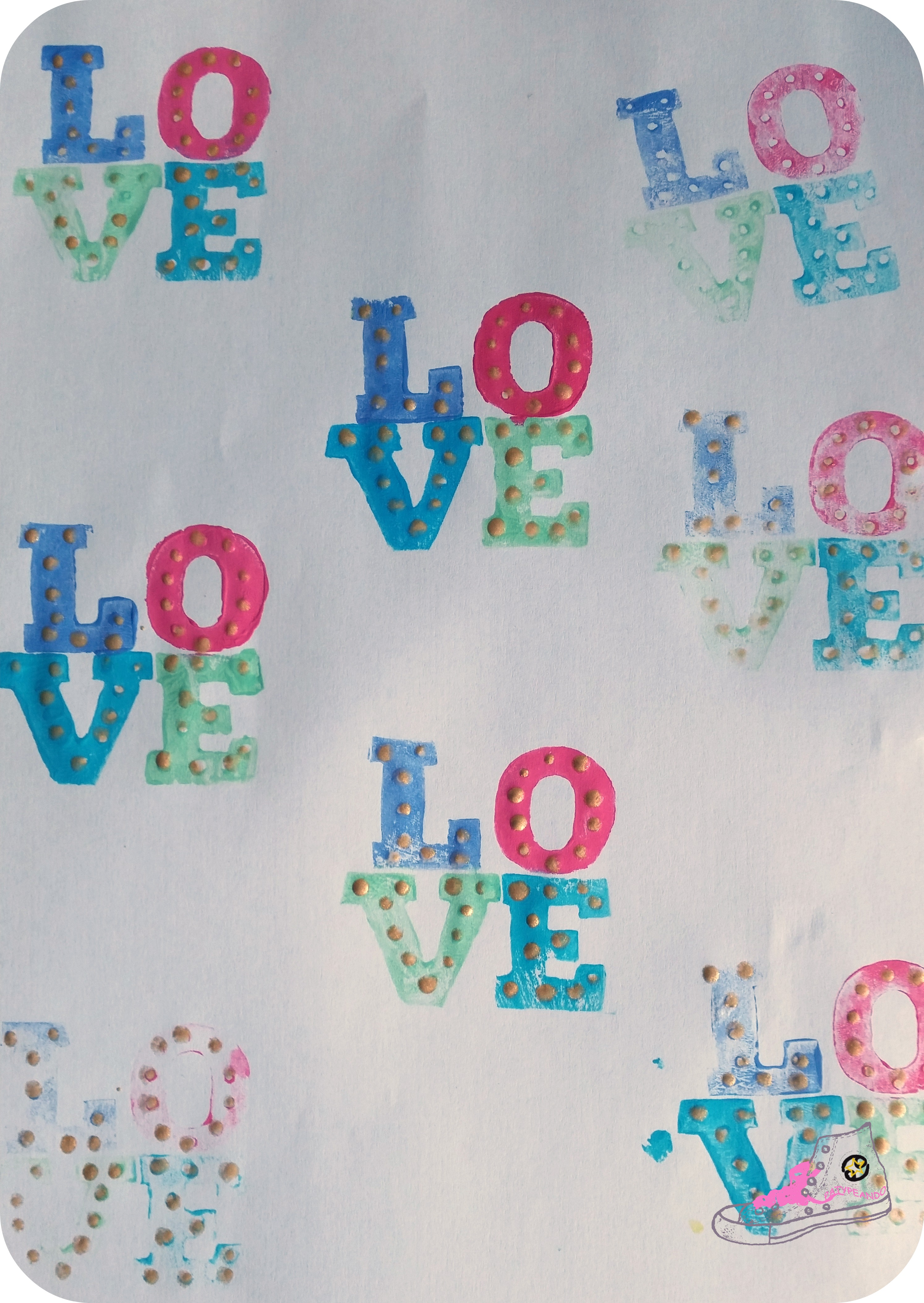 love estampado