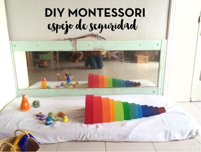 Habitación Montessori para bebés: DIY espejo de seguridad - Handbox ...