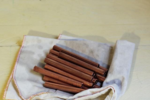 base multiusos de tuberia de cobre pángala