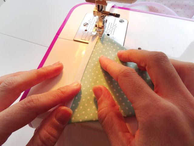 DIY guirnalda de tela