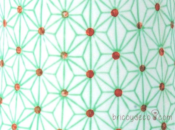 estampado geométrico