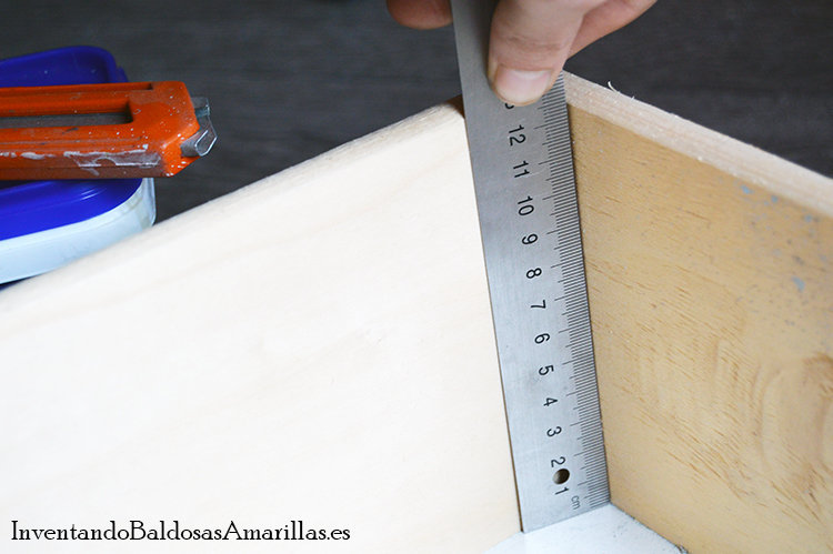 forrar cajones decorar papel
