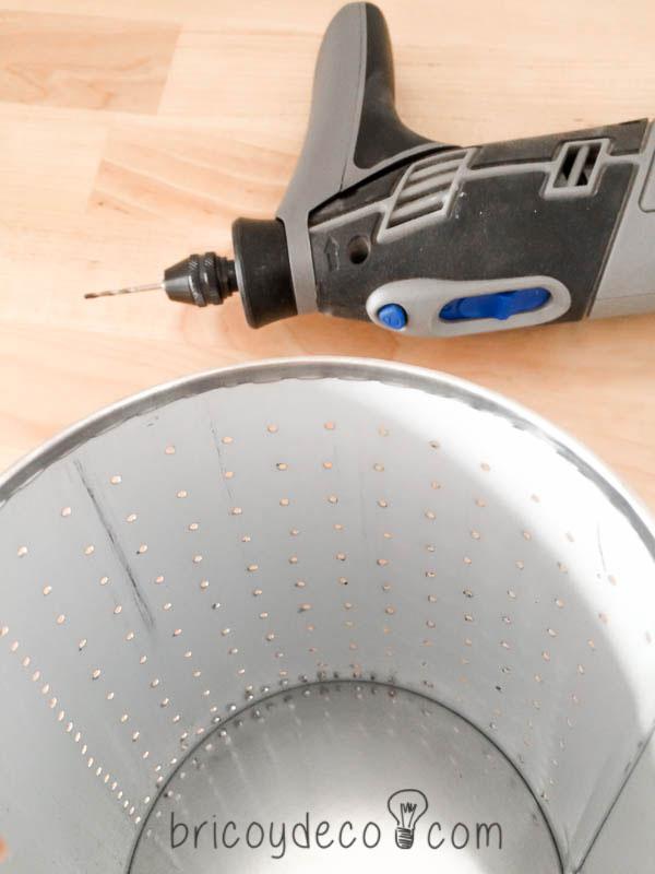 perforar lata con una multiherramienta