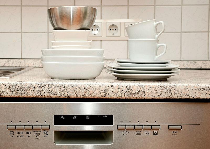 limpiar el lavavajillas con bicarbonato