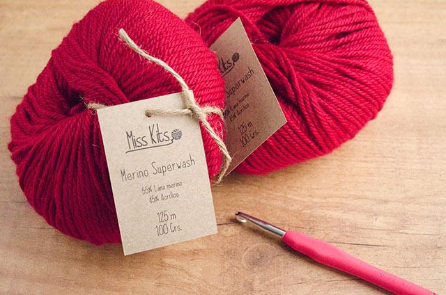 Lanas de primera calidad en los kits Miss Kits
