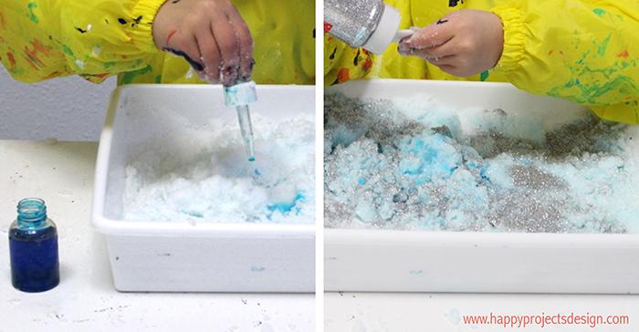 Nieve artificial diy