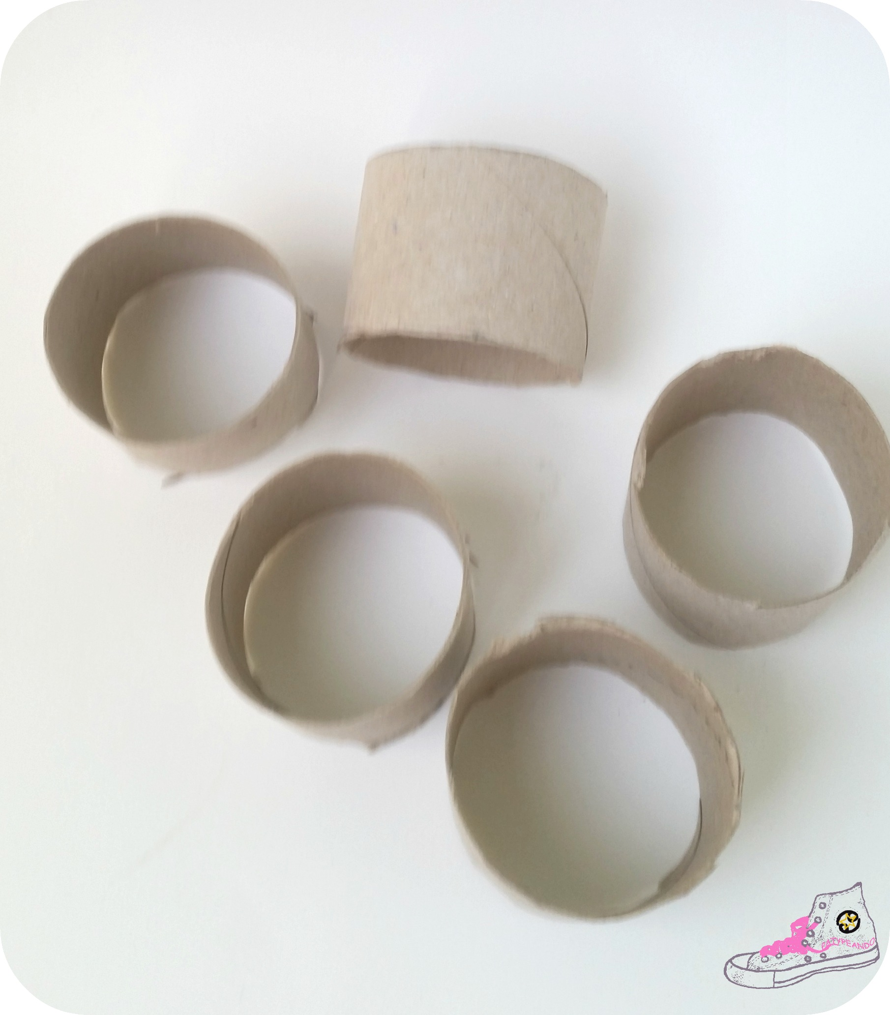 tollos de papel higiénico