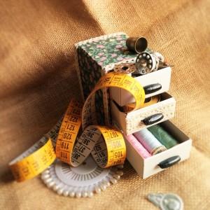 mini costurero reciclado