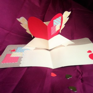 tutorial para hacer una tarjeta de San Valentín