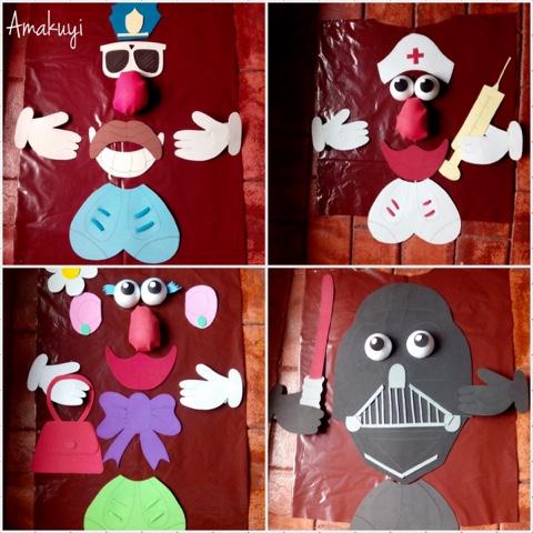Disfraz-goma-Eva-bolsa-basura-Mr.potato-niños