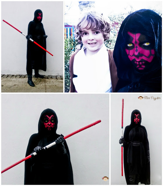 custome dark maul obi wan kenobi disfraz