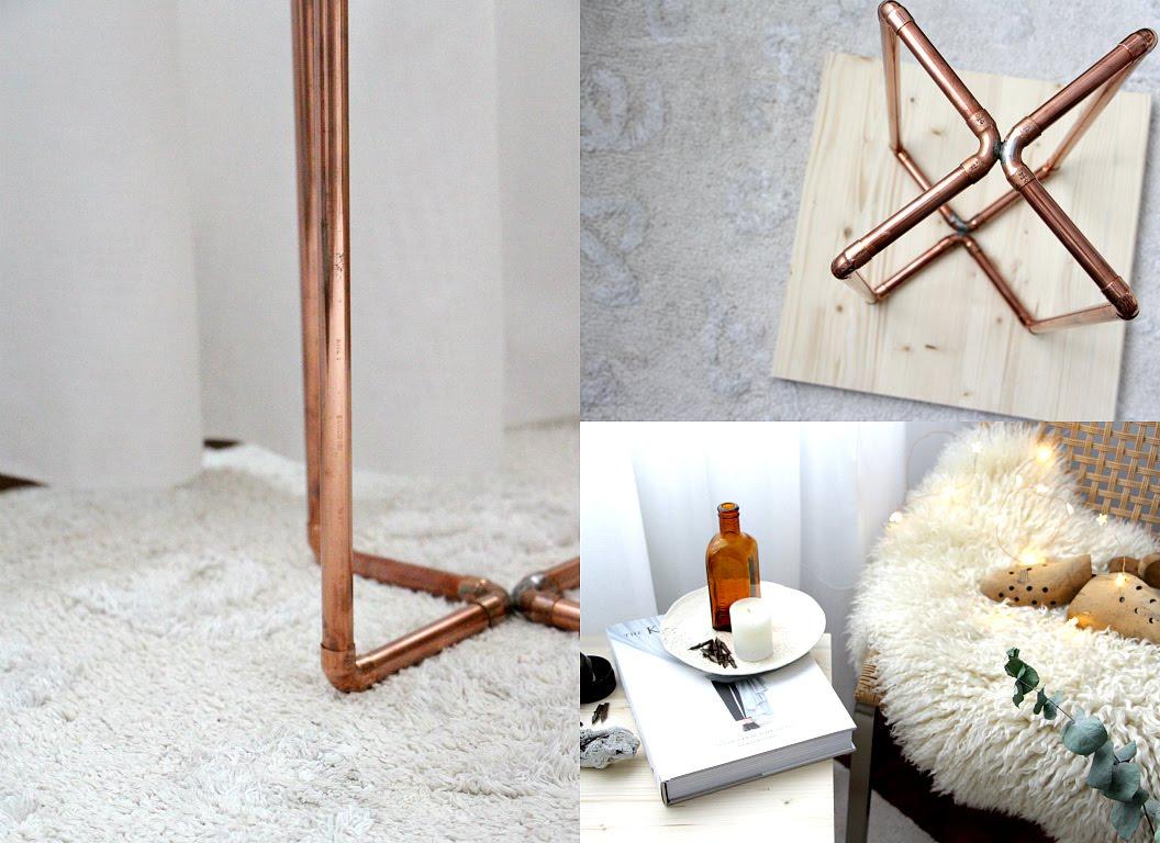 Diy, mesa de cobre
