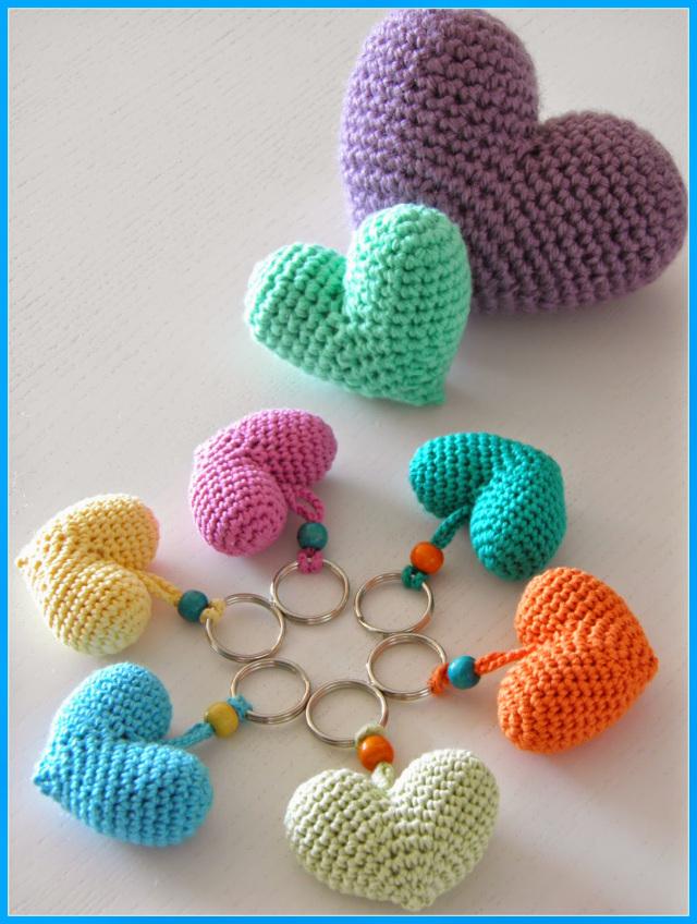 Corazones de Crochet para San Valentín - Handbox Craft Lovers ...