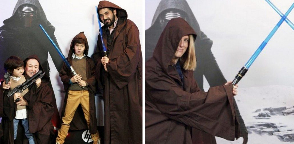 photocall desafio hp starwars